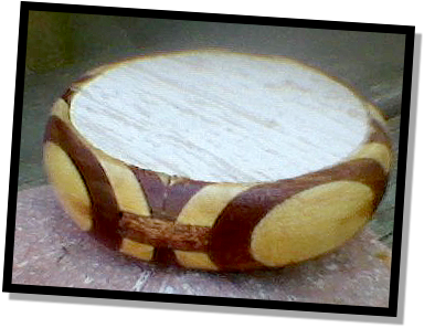 friction turkey call from petrified wood